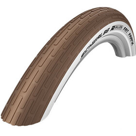 "SCHWALBE Fat Frank Active K-Guard 28"" trådet refleks, coffee/white"